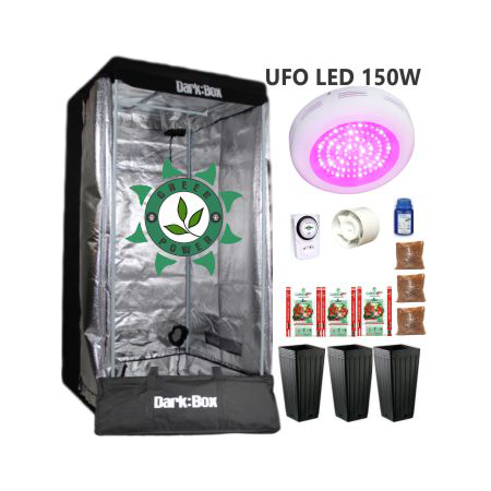 KIT DARK BOX 80 GROW LED 150W