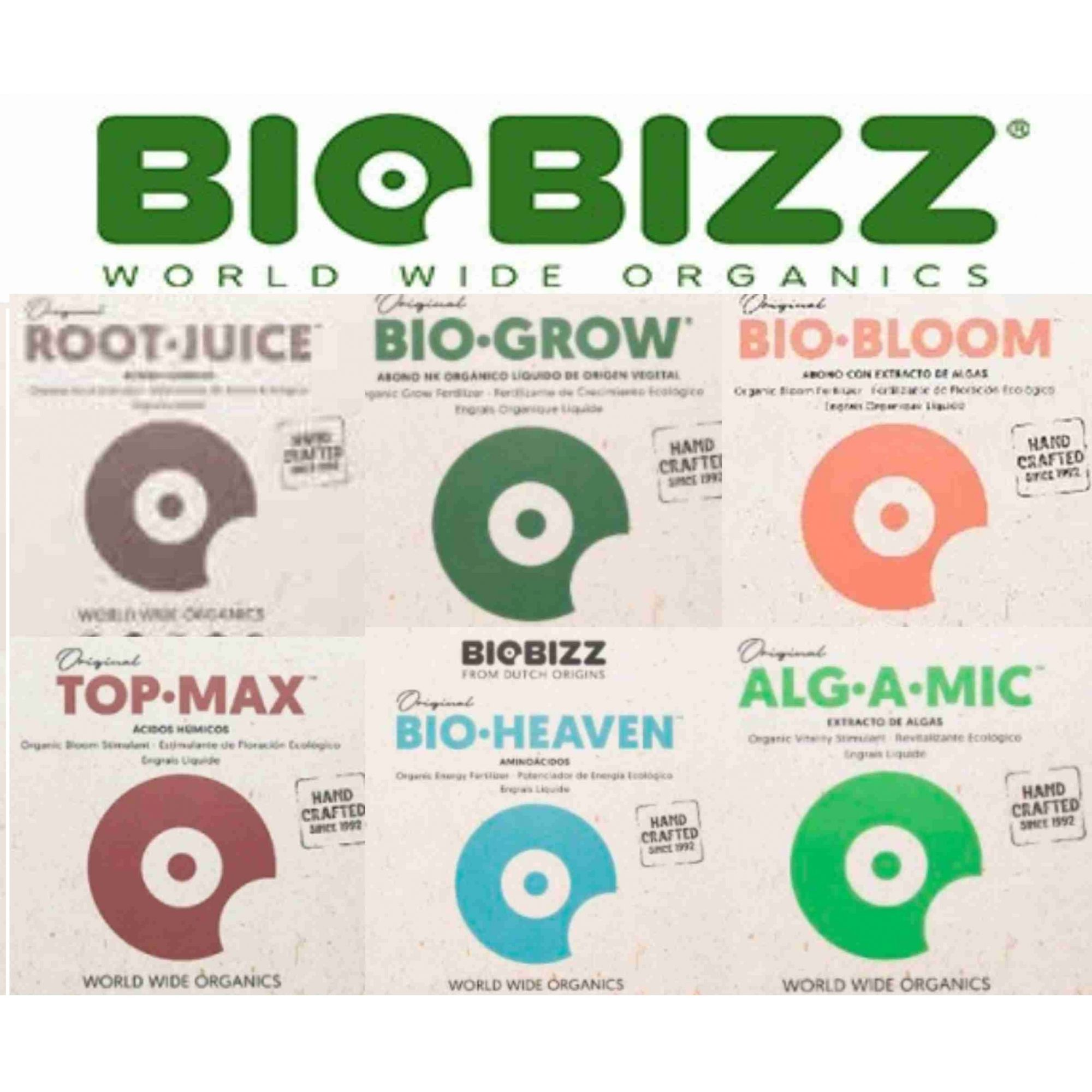 KIT FERTILIZANTE ORGÂNICO BIOBIZZ FULL PACK 100ML
