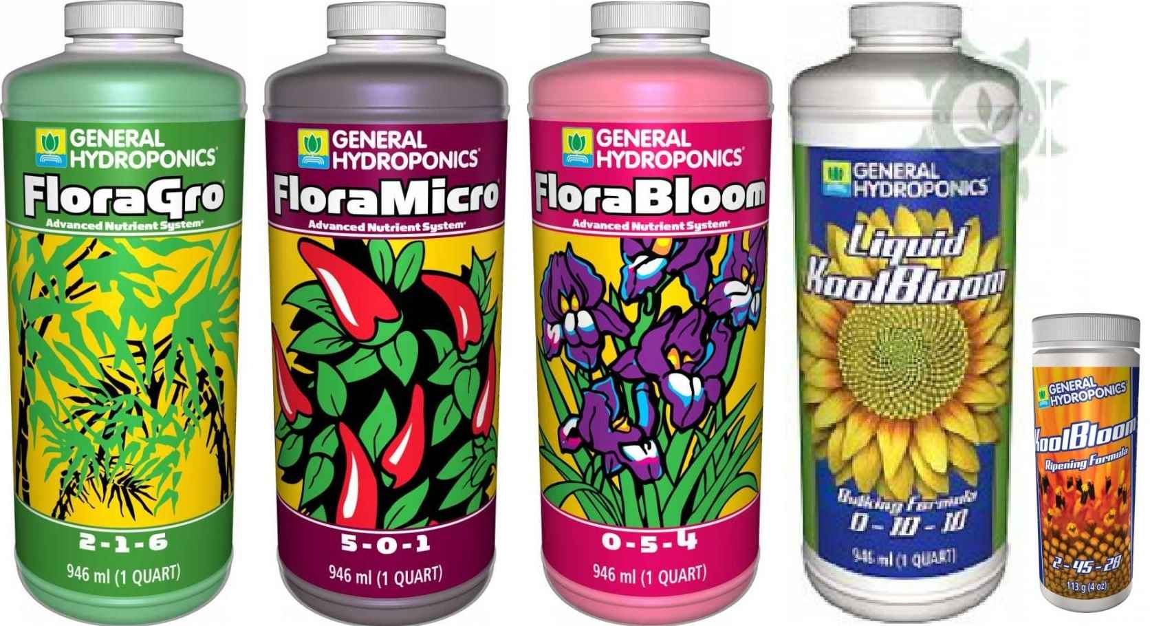 KIT FERTILIZANTE MINERAL GH FLORA SERIES EXPERT