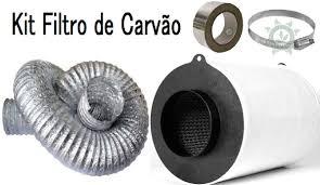 KIT FILTRO DE CARVÃO