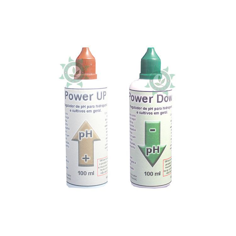 KIT REGULADOR DE PH (POWER UP + POWER DOWN) - 100ML