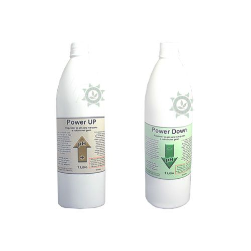 KIT REGULADOR DE PH (UP + DOWN) - 1 LITRO