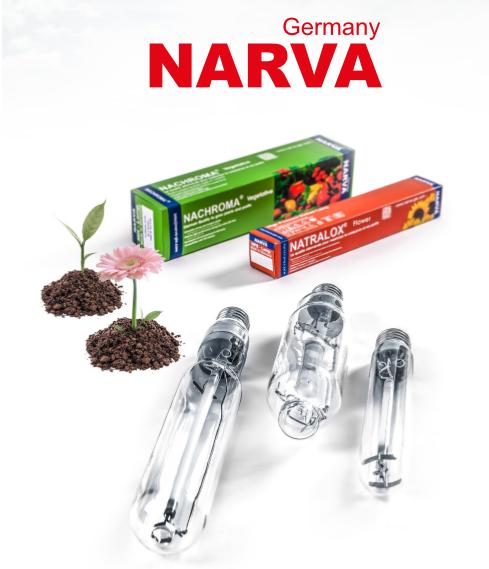 LAMPADA HPS 1000W NARVA NATRALOX