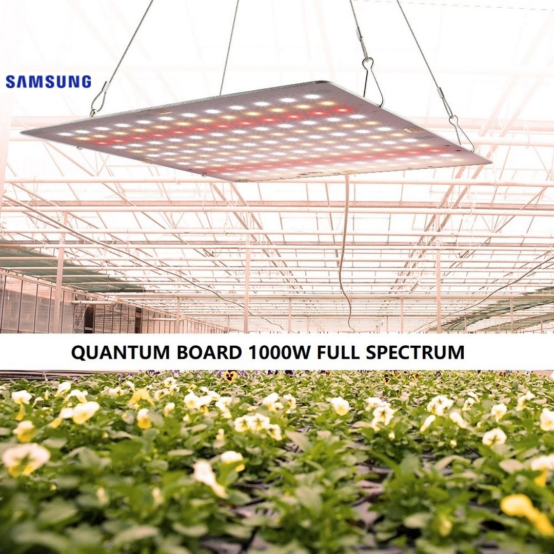 PAINEL GROW QUANTUM LED 1000W (SAMSUNG FULL SPECTRUM)