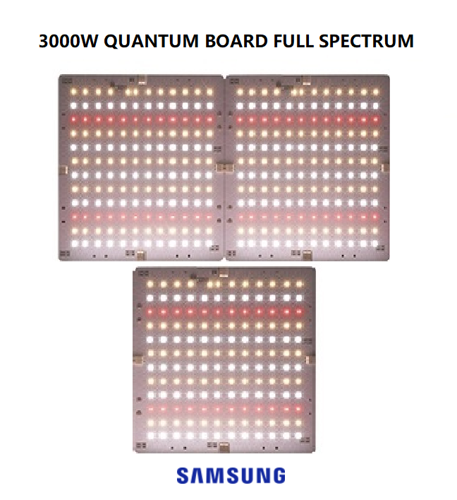 PAINEL GROW QUANTUM LED 3000W (SAMSUNG FULL SPECTRUM)