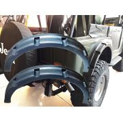 Alargador Para Lama Jeep Willys Traseiro Redondo3 - Par