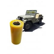 Bucha Jumelos Algema Feixe de Mola Ldo Fixo Jeep Willys Cj-3 E Cj-5 Em Poliuretano