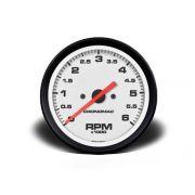 Contagiros 100mm Diesel 6000 RPM - Street Branco