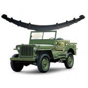 Feixe Mola Traseiro Jeep Willys CJ3 1945/ 1954 - FX 11 Folhas