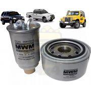 Filtro Combustivel E Oleo Mwm 2.8 Original Troller T4, S-10, Blazer