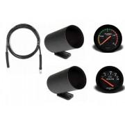 Kit Man Relógio Volt Press Turbo 2kg Racing + Kit Instalação