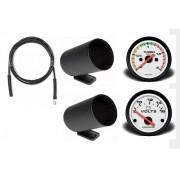 Kit Man Relógio Volt. Pressão Turbo 2kg, Kit Inst Troller T4