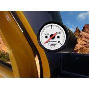 Kit Manometro Relógio Pressão Turbo 2kg Troller T4 - SB Sem Faixa