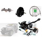 Pedaleira Suspensa De Freio/ embreagem Jeep Willys Cj5/6 - O Kit