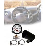 kit Termômetro Eletr Analogico 52mm 150° C Água Radiador Ford Ka