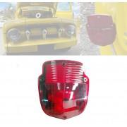Lanterna Traseira FORD F100/600/4000 COM VIGIA - Vermelha