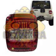Lanterna Trazeira De Led, Troller T4/ Caminhão Vw, Mb, Ford - Sem Vigia