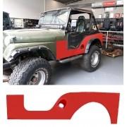Lateral Traseira Esquerda Para Jeep Willys Cj3 até 1954
