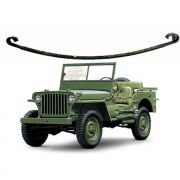 Mola 2ª Folha Dianteiro Jeep Willys CJ3 1945/ 1954