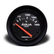 Termometro/Eletr /52mm/Agua/ST-Preto