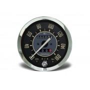 Velocimetro 100mm Mec. 160km/h 2 hod. c/ sinaleira Linha VW