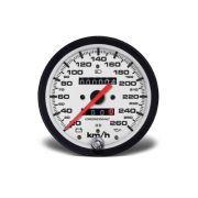Velocimetro 100mm Mec W 0,625 260kmh - Street Branco 2Hod C Si