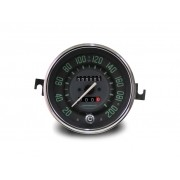 Velocímetro 110mm Mec. 200km/h  2 hod. c/ sinaleira Linha VW