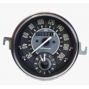 Velocímetro 110mm Mec. 200km/h C/ Relogio de Horas Linha VW
