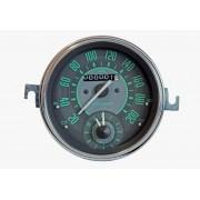 Velocímetro 110mm Mec. 200km/h Com Relogio de Horas Linha VW