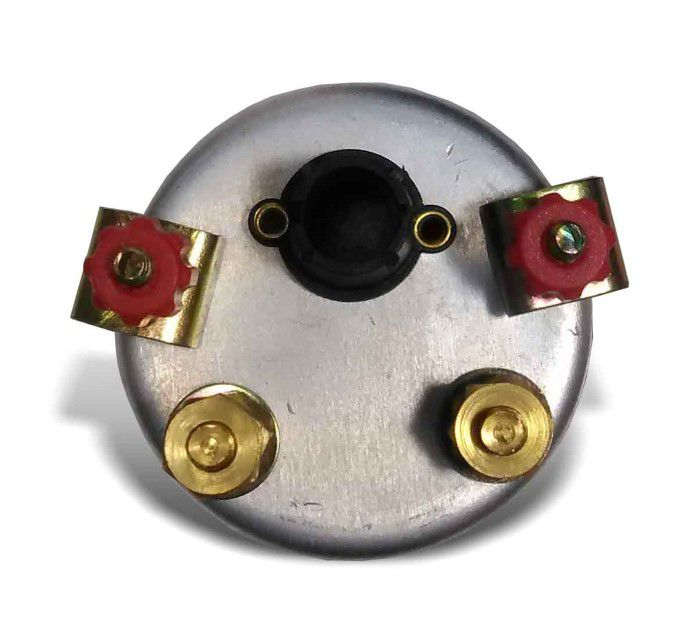 Amperimetro 52mm 50amp - Street Branco