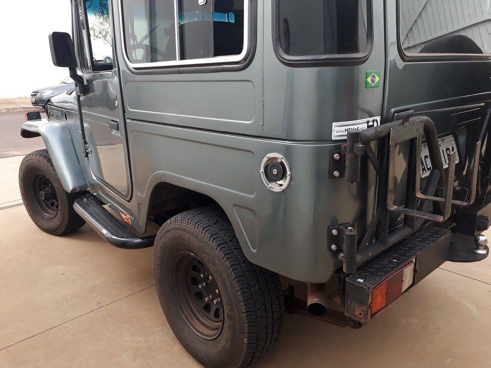 Bocal do Tanque Adaptação Willys Toyota Bandeirante