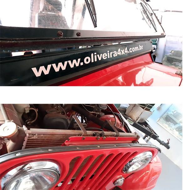 Borracha Apoio Capô,parabrisa Movel, Quadro Jeep Willys Cj5