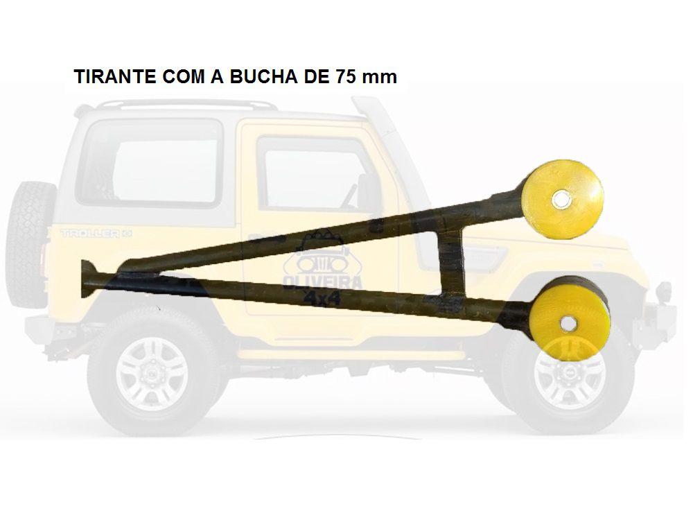 Bucha Da Barra Tensora Do Troller -  2002 Em Diante - 4 Pças