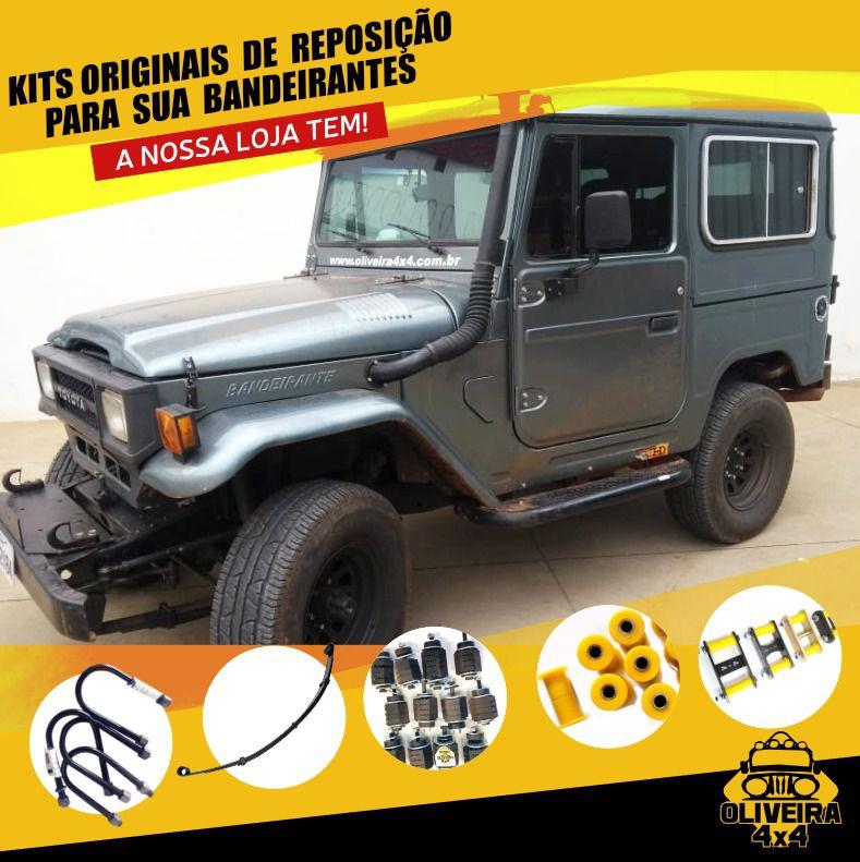Bucha Da Mola E Jumelo Diant/traz Toyota Band. 30 Mm 1 Pç