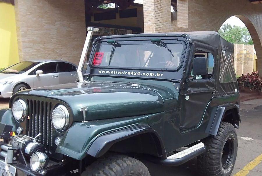 Capota Conversível Jeep Willys Cj5 - Preta - Atantida