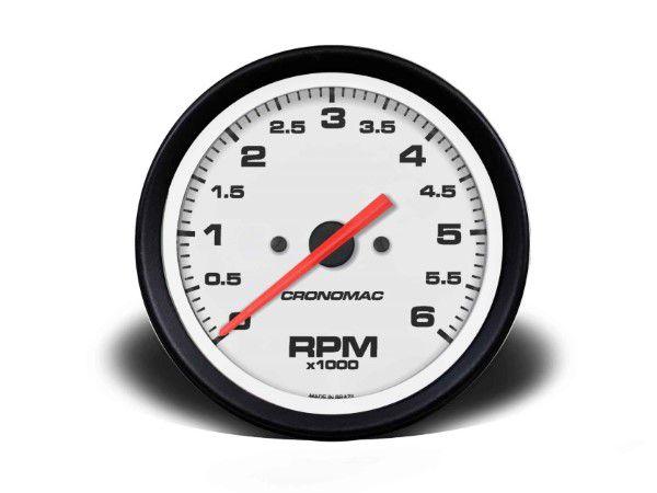 Contagiros 100mm 6000 RPM - Street Branco