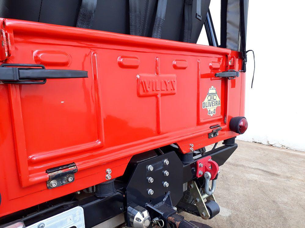 Dobradica Da Tampa Traseira Jeep Willys Cj2/3/5 - PAR