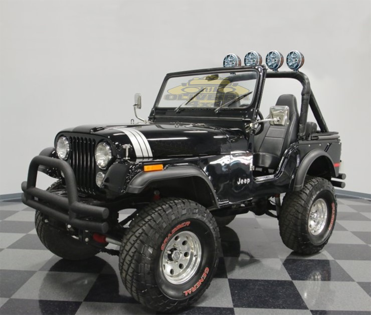 Farol Milha C/ Grade Jeep Willys, Tratores, Pickups - 158 mm