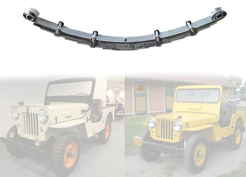 Feixe De Mola Dianteiro Para Jeep Willys 1945/ 1954 - Feixe com 10 Folhas