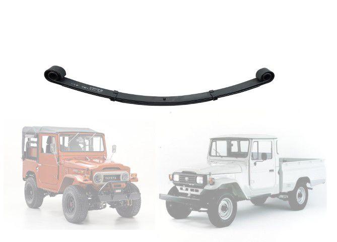 Feixe Mola Dianteiro Bandeirante, Jeep Furgão, Pick-Up - FX 3 FOLHAS