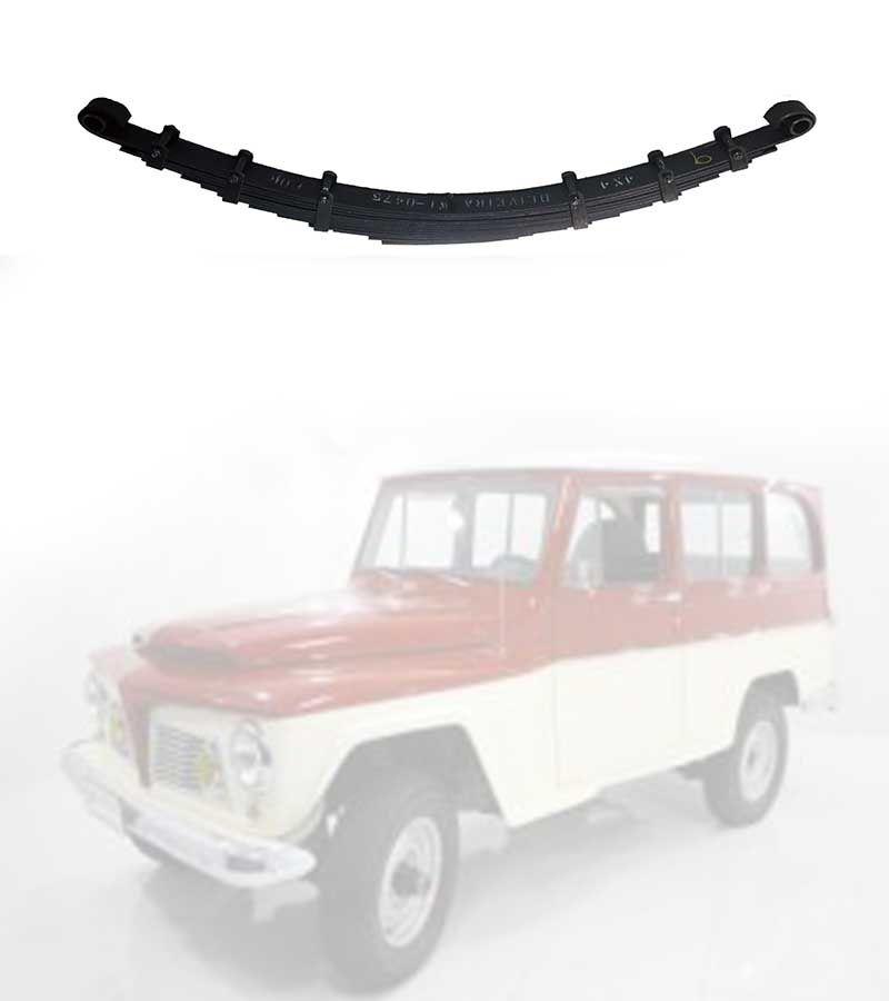 Feixe Mola Dianteiro Jeep Pick-Up, Rural 1958/ 1965 - FX 12 Folhas