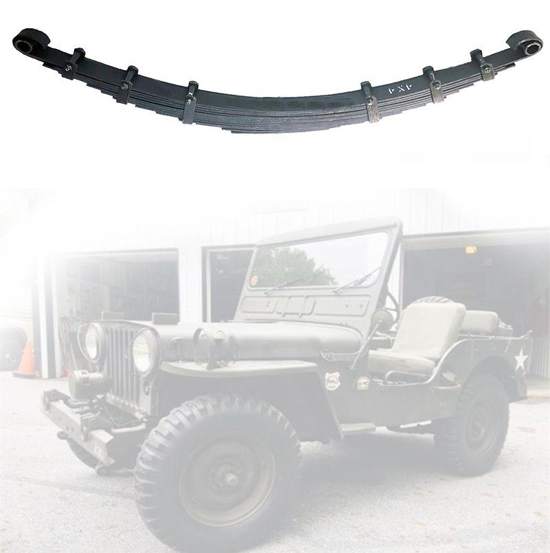 Feixe Mola Dianteiro Jeep Willys CJ3 1945/ 1954 - FX 10 Folhas