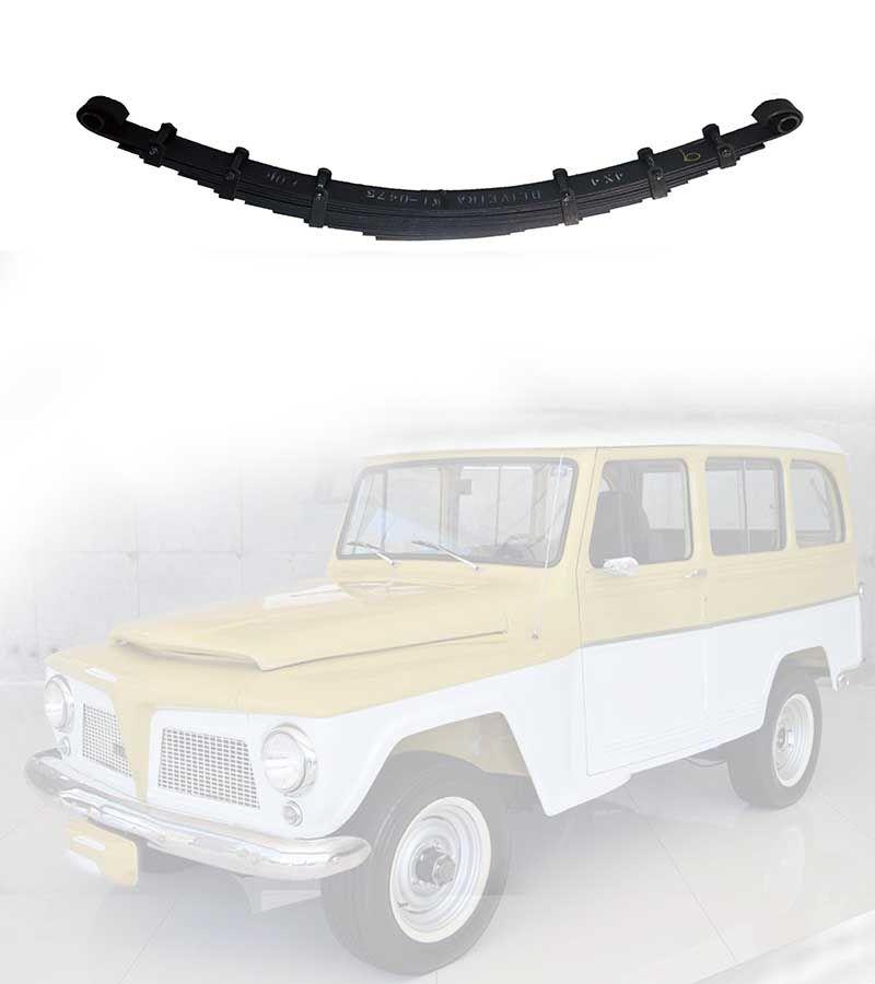 Feixe Mola  Dianteiro Pick-Up, F-75, Rural 1966/ 1983 - FX 11 Folhas