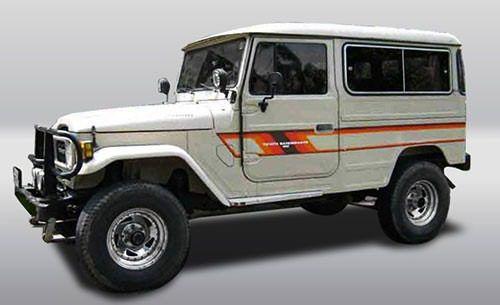 Feixe Mola Dianteiro Toyota Bandeirante 1960/ 1983 - FX 6 FOLHAS