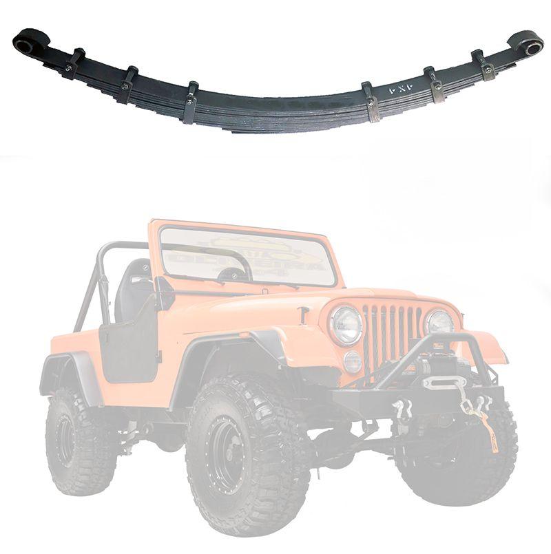 Feixe Mola Traseiro Jeep Willys CJ5 1955/ 1979 - FX 10 Folhas