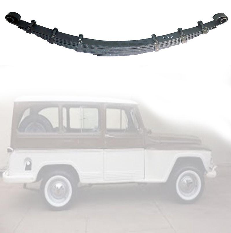 Feixe Mola Traseiro Pick-Up/ Rural 1965/ 1969 - FX 10 Folhas