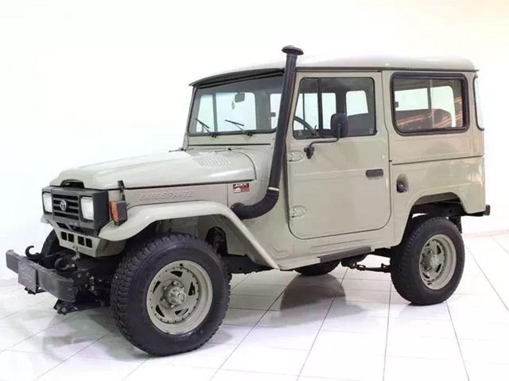 Feixe Mola Tras. Toyota OJ 50l, Bandeirante 1983...4 FOLHAS