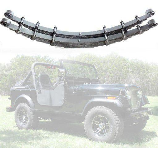Feixes De Mola Dianteiro Para Jeep Willys CJ5 1955/ 1979 - 12 folhas