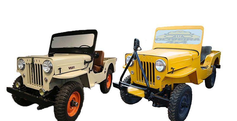 Feixes Mola 2 Dint/ 2 Tras Jeep Willys CJ3 1945/ 1954 - FX 10 e 11 Folhas