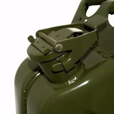 Galão Combustível Reserva 20 L Aço P/ Jeep